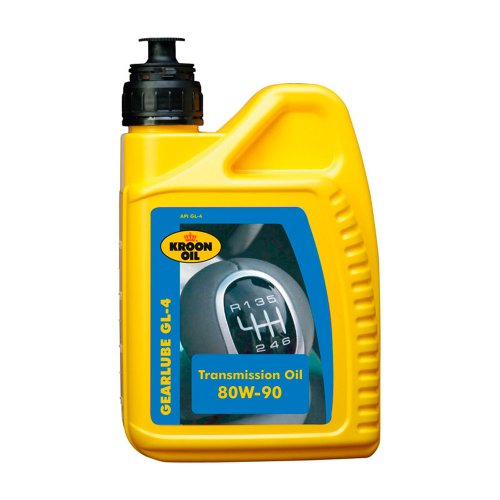 Kroon-Oil 1838127 33480 Gear Lube GL-4, 80 W 90, 1 L