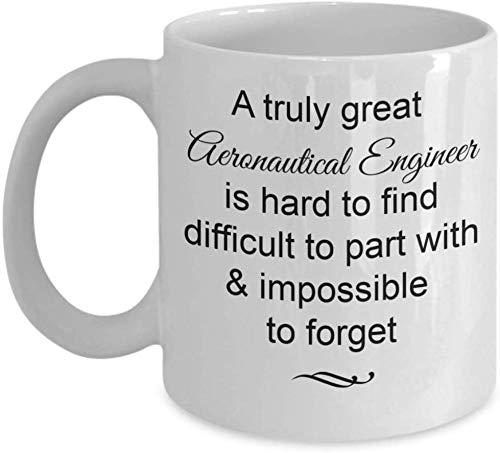 Thorea Regalos de Ingeniero aeronáutico: Realmente Genial e Imposible Olvidar la Taza de café, adiós, Despedidas, Ideas para Regalos de jubilación, Taza de 11 onzas