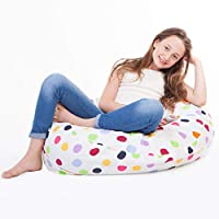 """SMART WALLABY 2 Sizes in 1 Large Bean Bag Stuffed Animal Storage 
