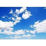 Vlies Fototapete 200x140 cm - Top ! PREMIUM PLUS Foto Tapete ! Wandbilder XXL Wandbild Bild Fototapeten Tapeten Wandtapete Wanddeko Wand Himmel Wolken Blau - no. 154