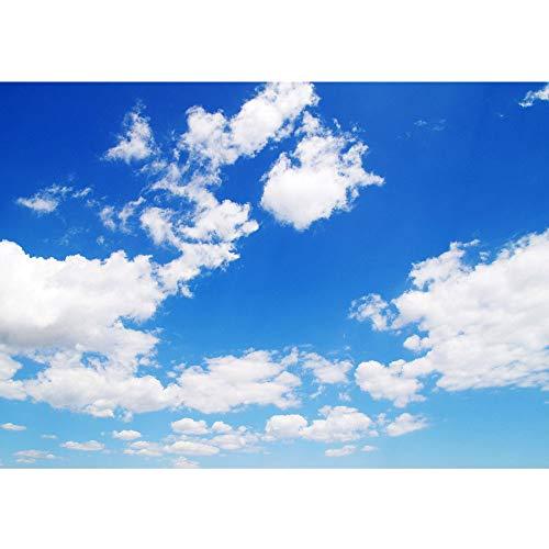 Vlies Fototapete 300x210 cm - Top ! PREMIUM PLUS Foto Tapete ! Wandbilder XXL Wandbild Bild Fototapeten Tapeten Wandtapete Wanddeko Wand Himmel Wolken Blau - no. 154 (Himmel Wolken Und)