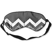Comfortable Sleep Eyes Masks Black White Wave Stripes Printed Sleeping Mask For Travelling, Night Noon Nap, Mediation... preisvergleich bei billige-tabletten.eu