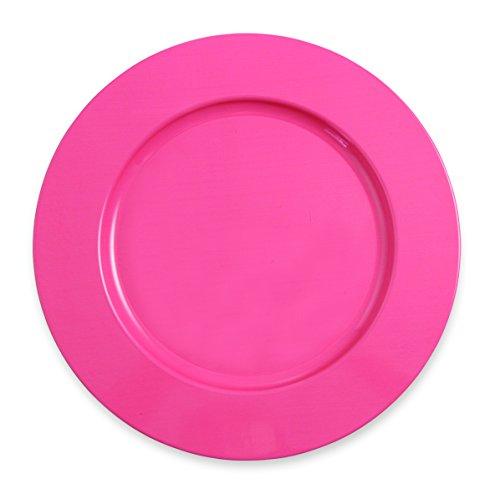 villa-deste-colors-sottopiatto-metallo-rosa-33x33x15-cm