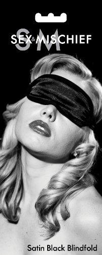 loveorama.de Augenbinde aus Satin, für Erwachsene, Schwarz
