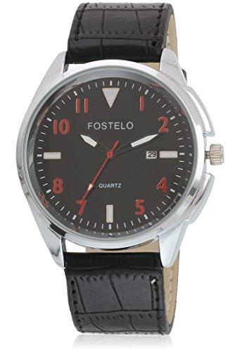 FOSTELO-BLACK-MENS-WRIST-WATCH-FST-356