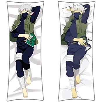 Naruto Kakashi Uzumaki Kissen Kopfkissen Sofakissen Dekokissen Pillow 40x40CM