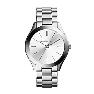 Michael Kors Reloj analogico para Mujer de Cuarzo con Correa en Acero Inoxidable MK3178