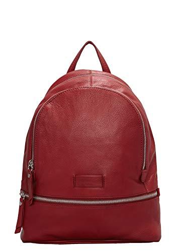 Liebeskind Berlin Essential Lotta Backpack Small - Borse a zainetto Donna, Rosso (Italian Red), 11x32x26 cm (B x H T)