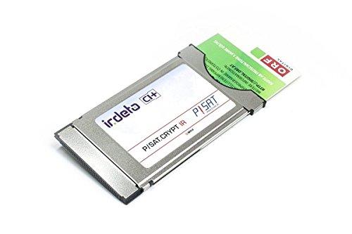 NEU! ORF Irdeto CI+ Modul inklusive ORF ICE Karte für den Empfang von ORF, ATV, Puls 4, Austriasat und HD Austria mit offizieller ORF TÜV Zertifizierung inkl. 1 Monat HD Austria Gratis (Plug & Wow)!
