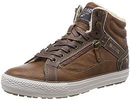 suchergebnis auf amazon de f�r rei�verschluss sneaker herren  mustang herren high top hohe sneaker,