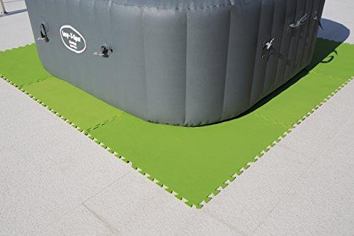 d2bd3e34755 Bestway 58265 - Pack de 8 protectores de suelo para piscinas