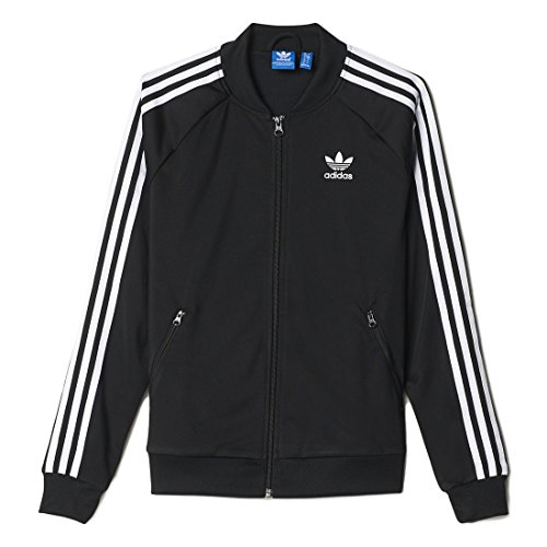 adidas Damen Trainingsjacke Supergirl Originals, Black, 34, AJ8432