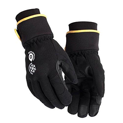 Handschuh Handwerk Schwarz/Grau 10 - Thermische Spandex