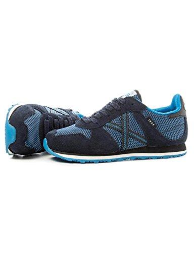 Munich Mini Massana 221, chaussures de randonnée mixte enfant Bleu