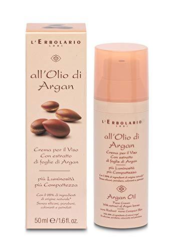 L'Erbolario Arganöl Gesichtscreme, 1er Pack (1 x 50 ml)