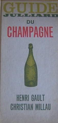 Guide julliard du champagne in-8° rel. toile beige avec rouss.