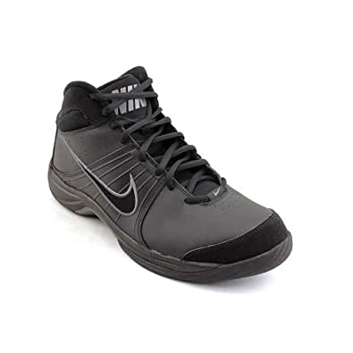Nike The Overplay VI Mens Black Running Shoes Size New