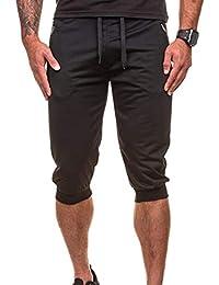 Pantalones Para Hombres 3 3 Nicolas 4 4 Pantalones Mode De Marca Cortos  Cargo Pantalones Casuales Bermudas Pantalones Capri 3 4… b781c0e6e6bb