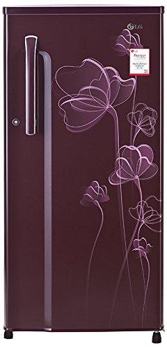 LG 188 L 2 Star Direct-Cool Single-Door Refrigerator (GL-B191KSHV, Scarlet...