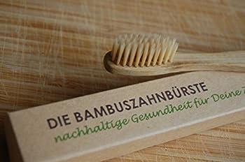5er Pack Die Bambuszahnbürste - Nachhaltige Gesundheit Für Deine Zähne ✅Vegan ✅Biologisch Abbaubar ✅öKologisch ✅Nachhaltig ✅Bpa-frei ✅Umweltfreundlich ✅Mittlere Borsten 4