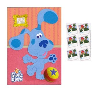 blues-clues-party-game-poster-1ct-by-nickelodeon