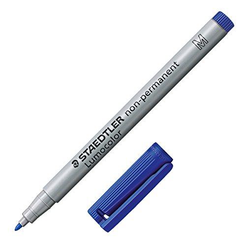Staedtler 3153 - Lumocolor M wasserlöslich blau