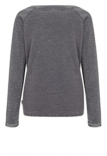 Lonsdale Leek Girly Sweatshirt (grau) Anthracite