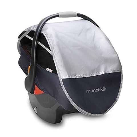 Munchkin Protection Soleil /Pluie /Moustique Rétractable pour Siège Auto Groupe 0+