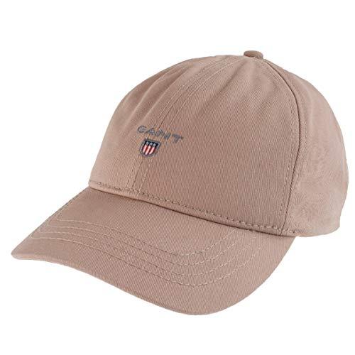GANT Unisex Baseball Cap Twill Cap One Size in Beige