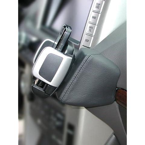 Kuda–Consola de teléfono para (LHD) para Toyota Land Cruiser a partir de 2010piel negro