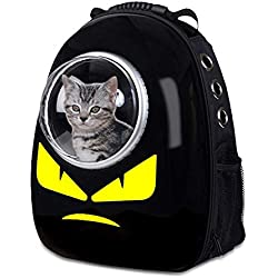 ManYPPet Pet Carrier Bolsa de Espacio for Mascotas Hombro Mochila for Mascotas Funda de Transporte for Gatos Mochila for Gatos Soporte Grande (Color, Size : 32 * 29 * 42CM)
