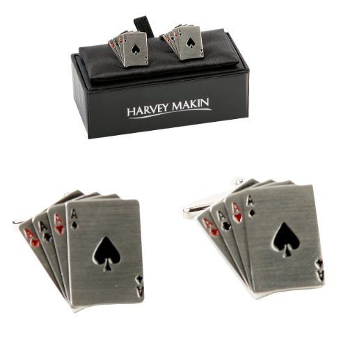 pair-of-rhodium-plated-4-ace-playing-cards-cufflinks-an-ideal-gift-for-the-card-player-cl238