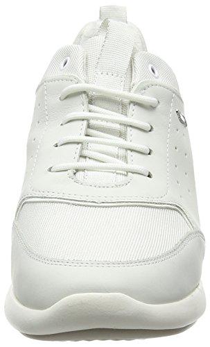 D BSneakers Femme Ophira Weiß Geox Blanc Whiteoff Basses c3TlF1KJ
