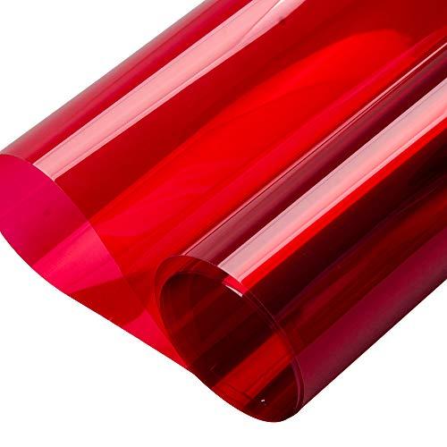 HOHOFILM farbigen Fenster Film Glas klar Deko Tint Sun Blocker Wärme Kontrolle Selbstklebende Tönungsfolie für Gebäude privaten 60