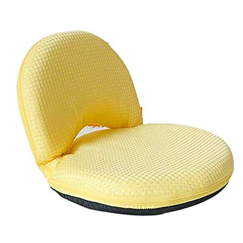 JFFFFWI Boden Stuhl Bett Sofa faul Couch Stuhl Single Student schlafsofa ohne Beine kleines Sofa (Farbe: B)