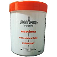 Mascarilla yogurt al chocolate de leche 1000ml Envie