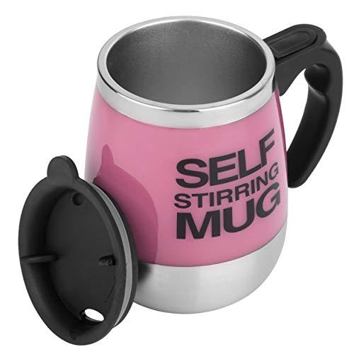 Tellaboull Für 450 ml Edelstahl Selbst Rührender Becher Auto Mixing Drink Tee Kaffeetasse Hause...