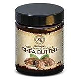Shea Butter - Sheabutter 100% Rein und Natürlich - Raffiniert Karité Body Butter 100g - Körperbutter - für Schönheit - Massage - Wellness - Kosmetik - Körperpflege