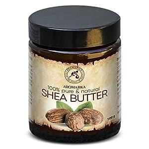Manteca de Karité – 100g – Shea Butter Africana – Puro y Natural Butyrospermum Parkii – Óleo Corporal – Hidratante…