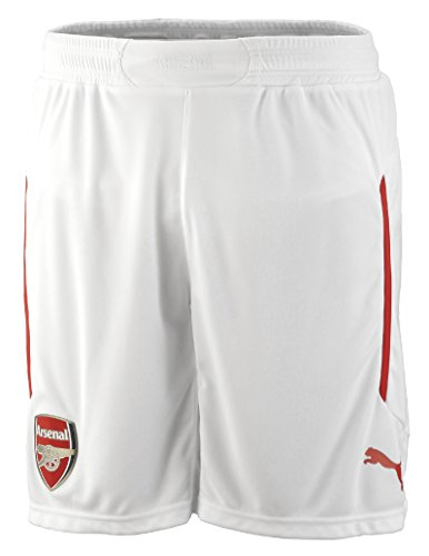 Puma Shorts White-High Risk Red