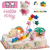 kit de dcoration hello kitty dek dco gteau anniversaire - Hello Kitty Anniversaire