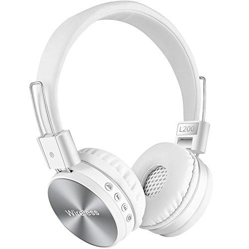MCYs Casque sans Fil avec Annulation Active du Bruit - Bluetooth Stéréo Casque sans Fil Bluetooth 4.2 écouteur Circum-Auriculaire Casque [Classe énergétique A++]