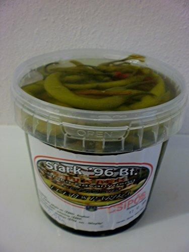 Eingelegte Pepperoni scharf aus Ungarn vom Bauern keine Industrieware