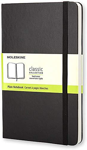 Moleskine Klassisches Notizbuch Large, Hardcover, blanko, schwarz