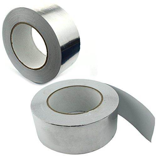 2x BMD san Klebeband zur Verklebung von Dampfsperrfolien Dampfbremsfolien Gr/ün - 50mm x 25lfm