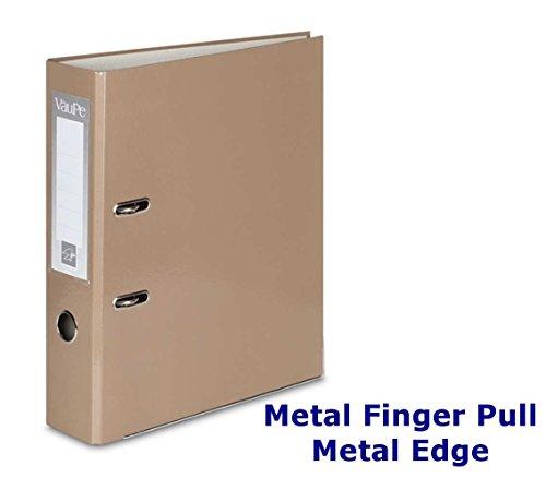 1-5-o-10-x-a4-grande-75-mm-palanca-archivos-carpetas-y-borde-de-metal-dedo-tire-papeleria-documento-