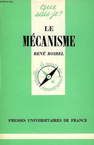 Le Mécanisme : hier et aujourd'hui