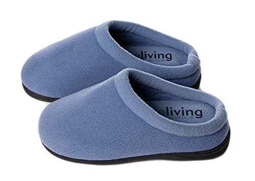 Innoliving INN-045_XS Massagepantoletten, Größe XS / 36-37 - Pedi Hausschuhe
