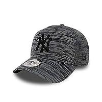 New Era Engineered Fit A Frame New York Yankees Beyzbol Şapkası, Gri, Tek Ebat