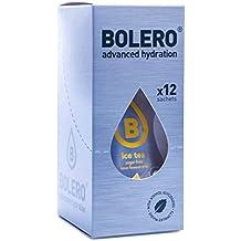 Bolero - Instant Getränkepulver Eistee Zitrone ICE Tea Lemon (24er Pack) mit Stevia